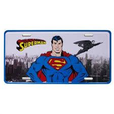 Placa De carro Super Homem (Superman) Clássico - Metropole