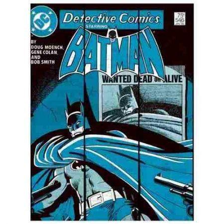 Placa de Madeira Batman Wanted Dead or Alive - Urban