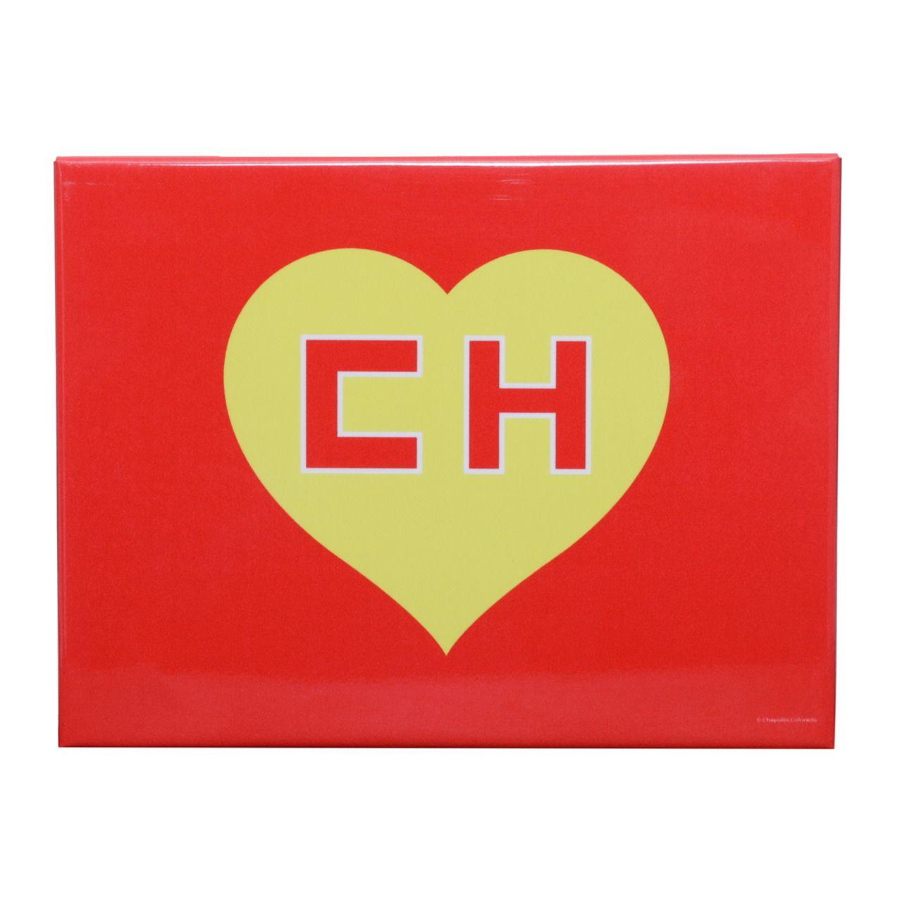 Placa Decorativa (Metal) Logo Chapolin (Vermelho) - Urban
