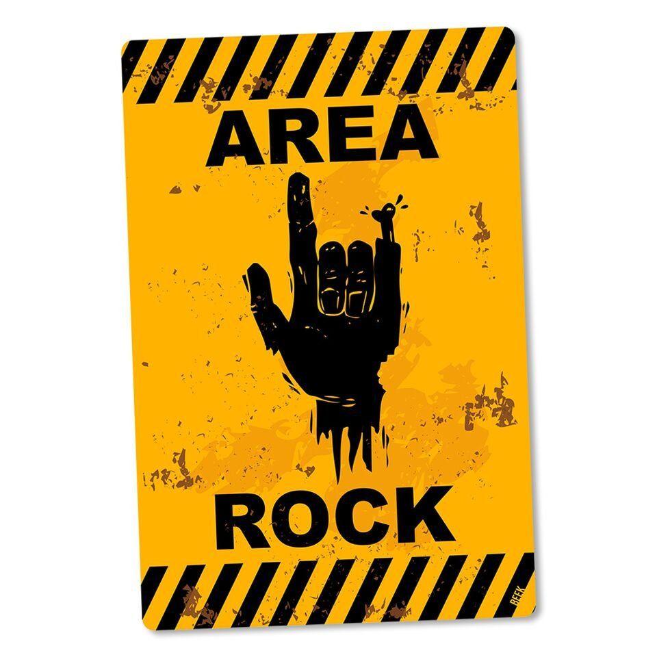 Placa Decorativa Area Rock
