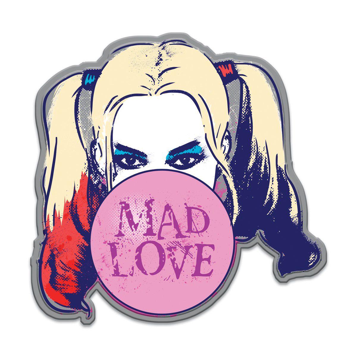 Placa Decorativa Arlequina (Harley Quinn) :
