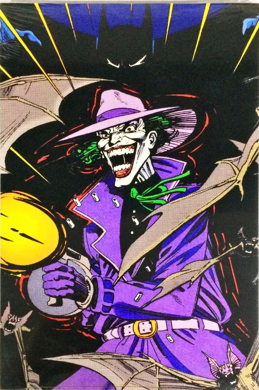 Placa Decorativa: Batman & Coringa (Joker)