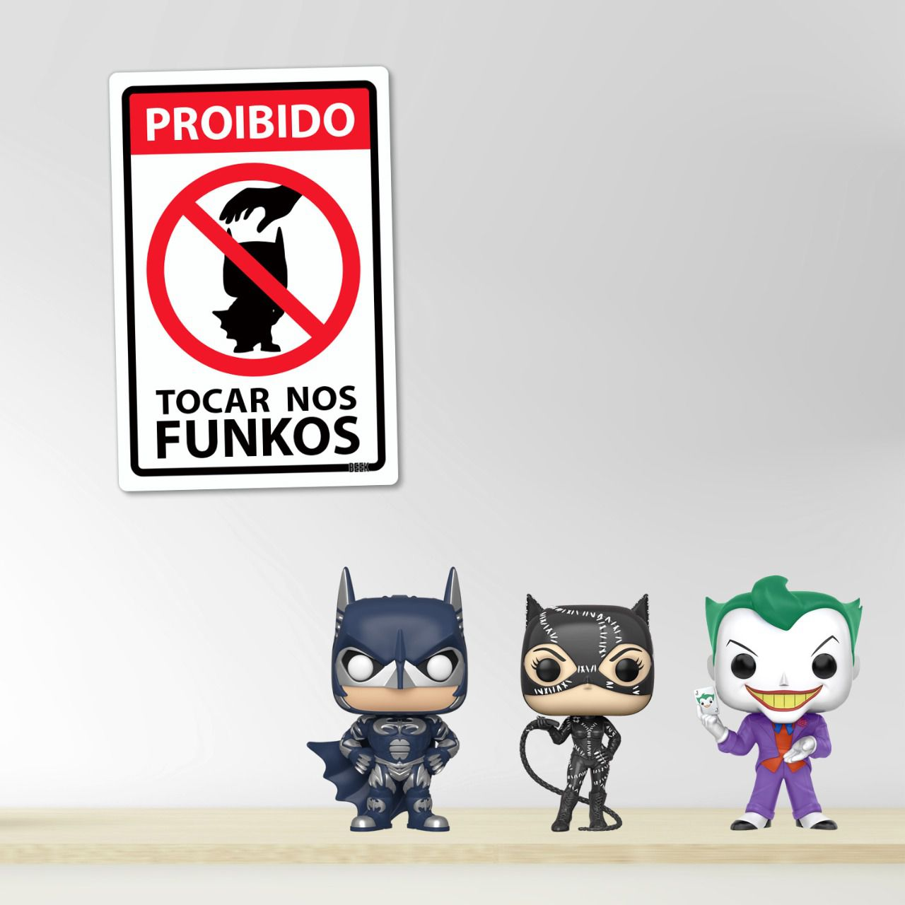 Placa Decorativa: Batman: