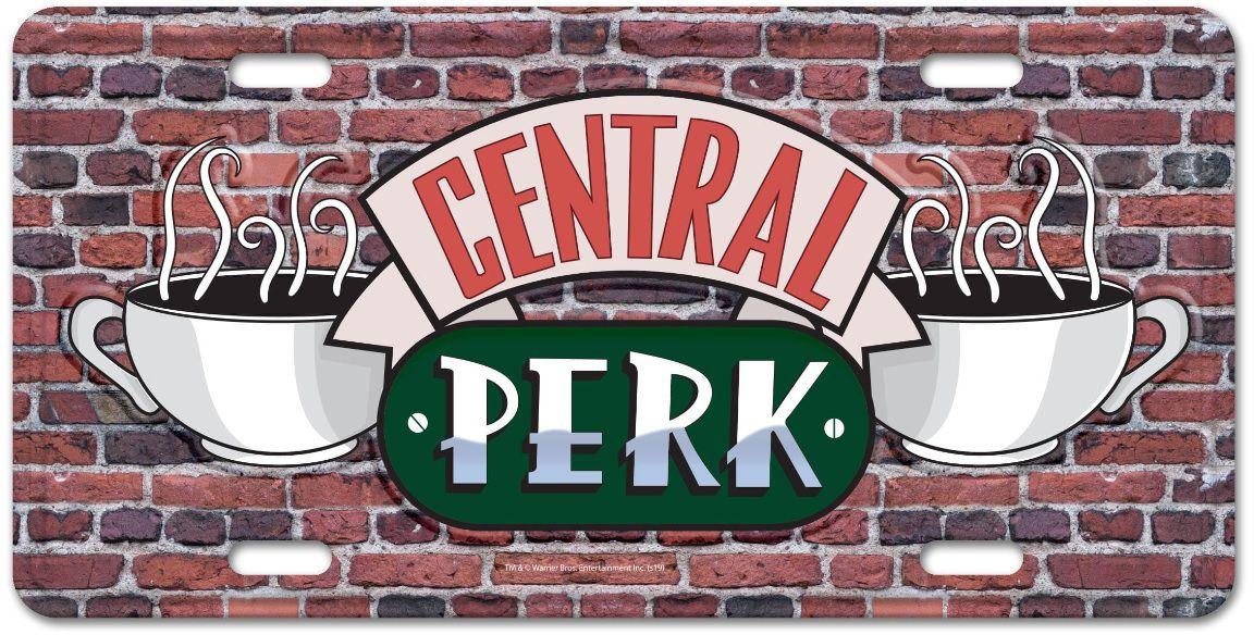 Placa de Carro Central Perk: Friends - Urban