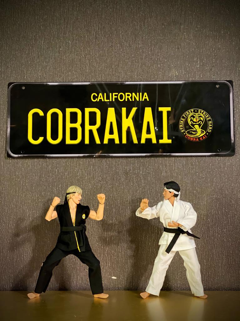 Placa Decorativa Cobra Kai