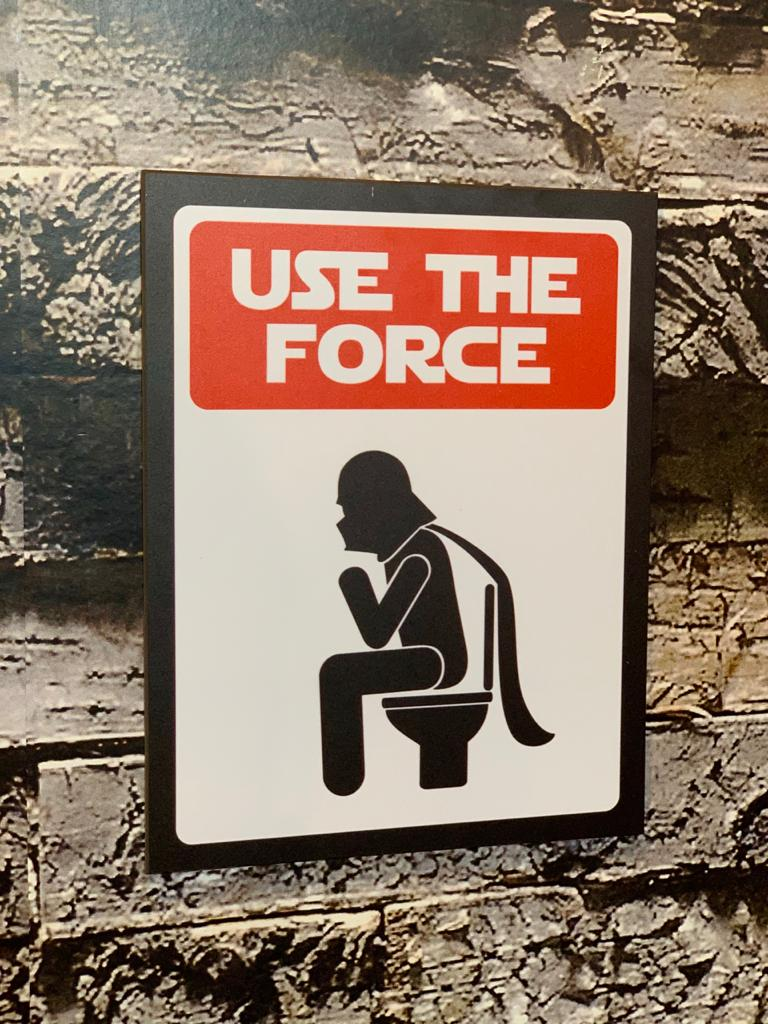 Placa Decorativa Darth Vader