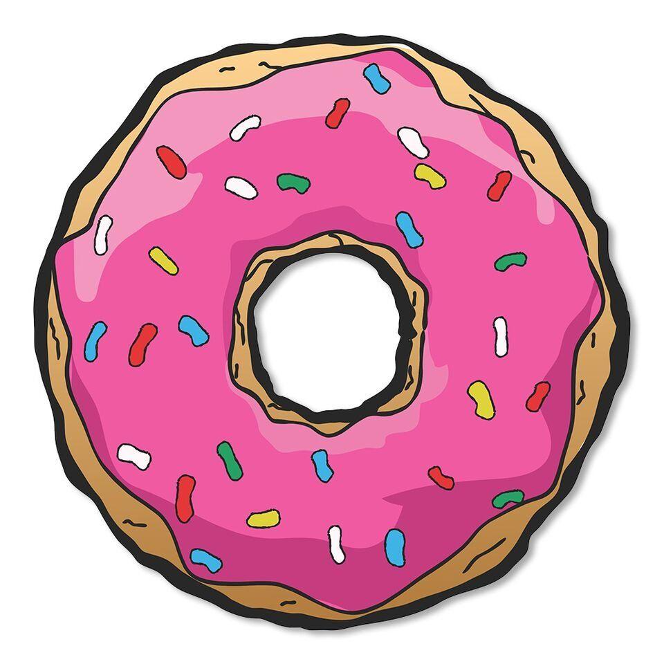 Placa Decorativa Donuts