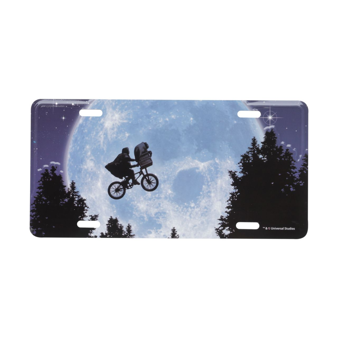 Placa De Carro E.T. Bike In The Moon: E.T.: O Extraterrestre - Urban