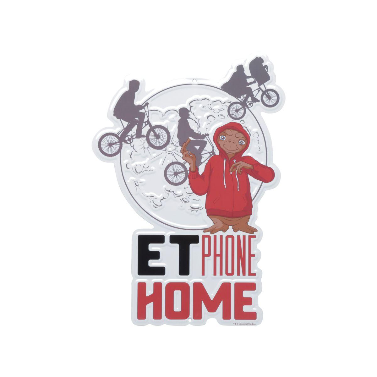 Placa Decorativa E.T.: E.T.: O Extraterrestre - Urban