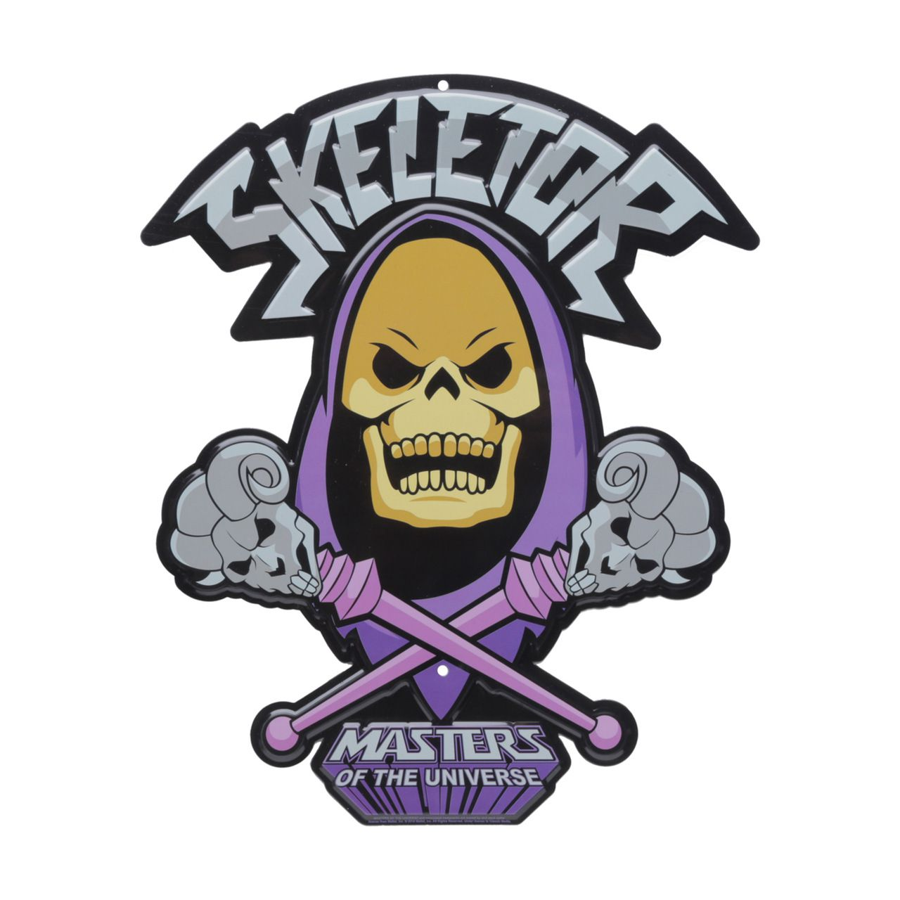 Placa Decorativa Esqueleto (Skeletor): Mestres Do Universo (Masters of the Universe) - Urban