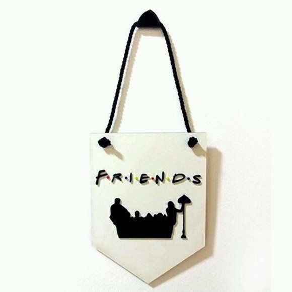Placa Decorativa Friends