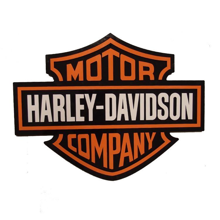 Placa Decorativa Harley-Davidson Grande