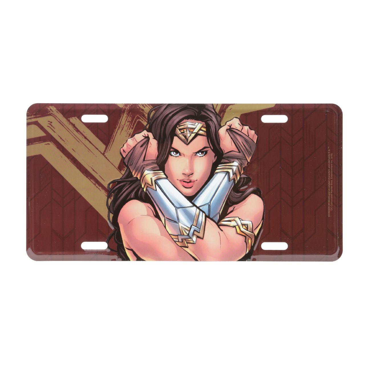 Placa De Carro Mulher-Maravilha (Wonder Woman) - Urban