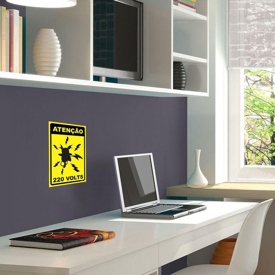 Placa Decorativa Pikachu 220V - Beek