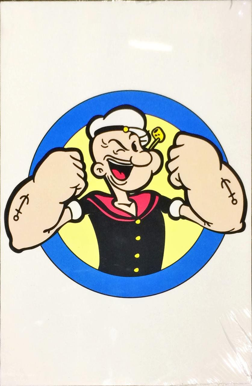 Placa Decorativa: Popeye