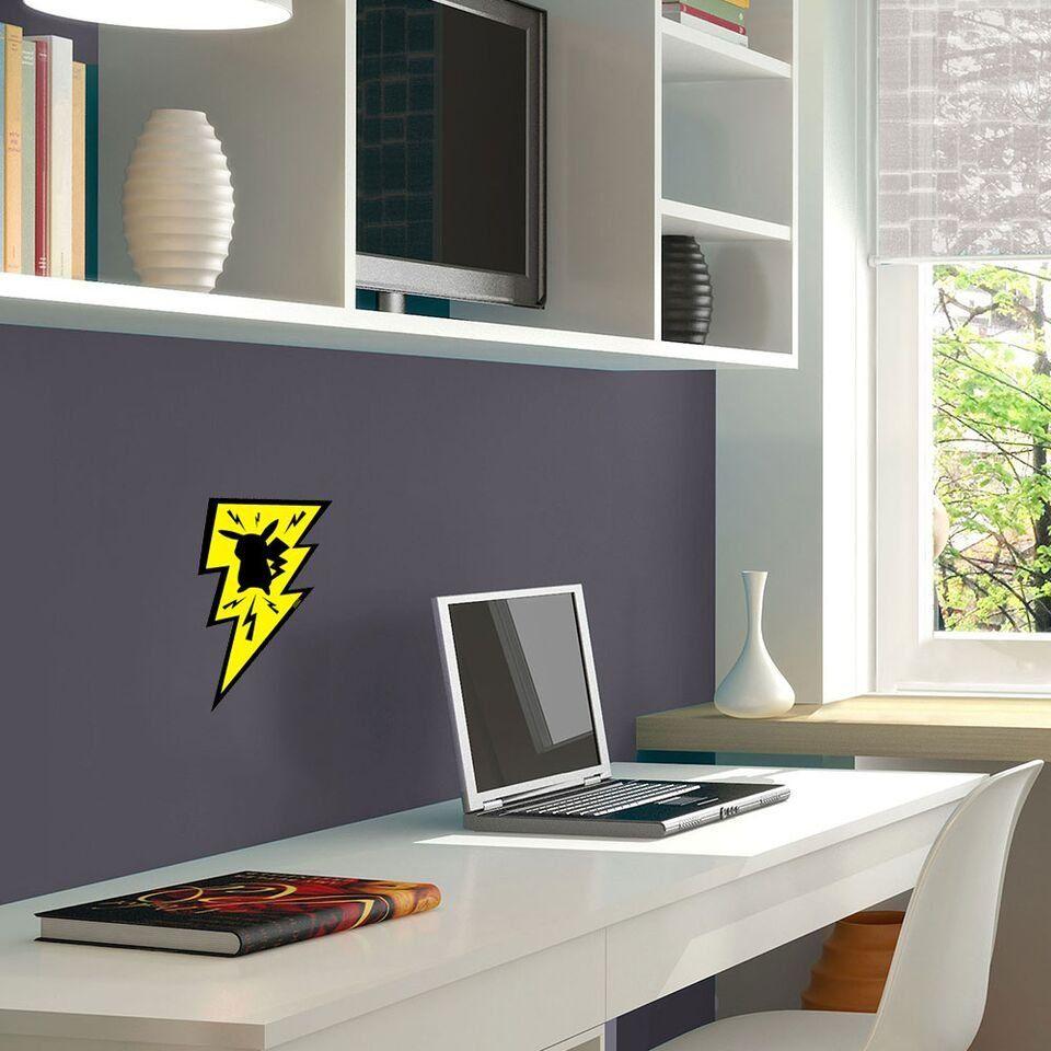 Placa Decorativa Pikachu Raio - Beek