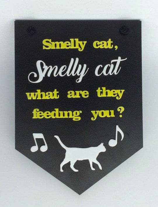 Placa Decorativa Smelly Cat: Friends