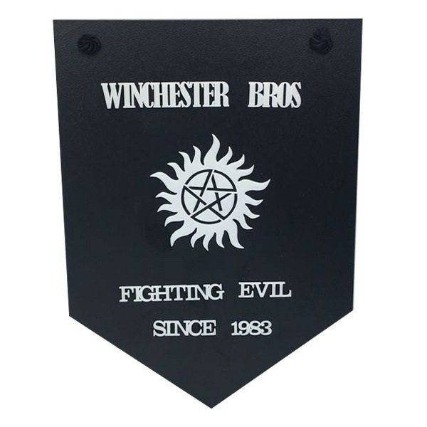 Placa Decorativa Sobrenatural (Supernatural) Winchester