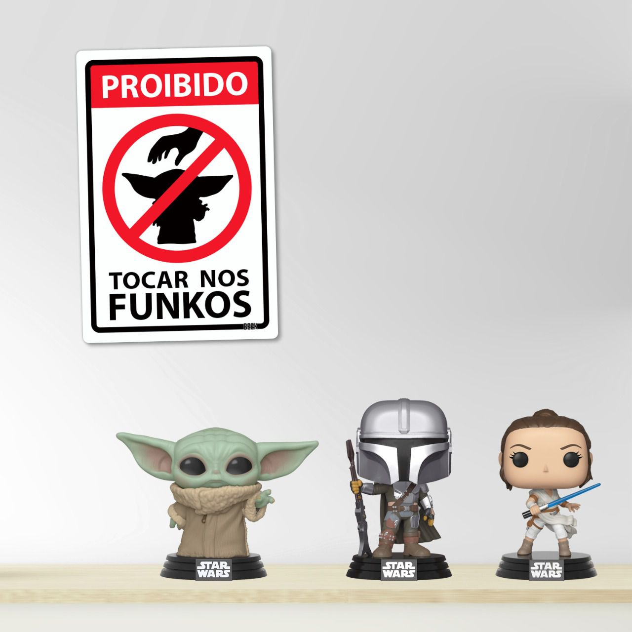 Placa Decorativa: Star Wars: