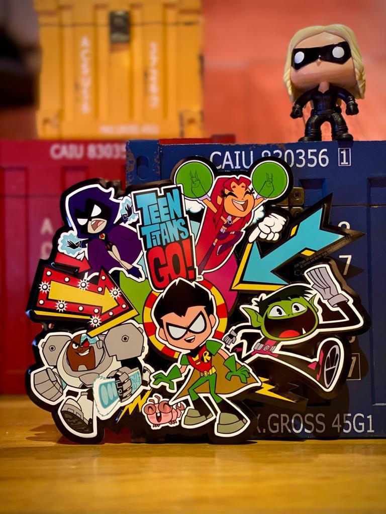 Placa Decorativa Teen Titans Go! - Urban