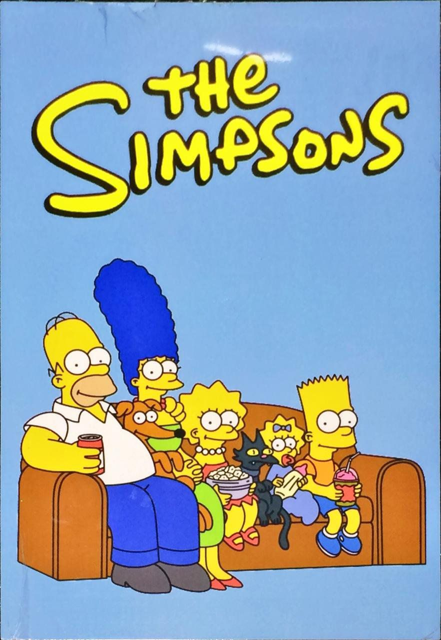 Placa Decorativa: The Simpsons