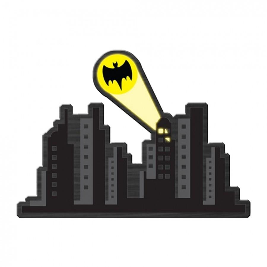 Placa MDF Gotham City: Batman - Metropole