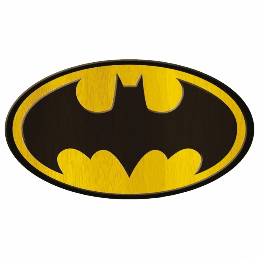 Placa MDF Logo Batman - Metropole