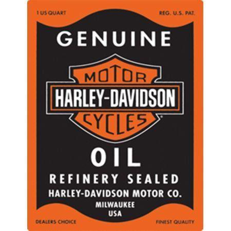 Placa Personalizada - Harley Davidson