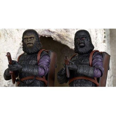 Boneco Gorilla Soldier e Infantry: Planeta dos Macacos (2 Pack) - Neca - CD