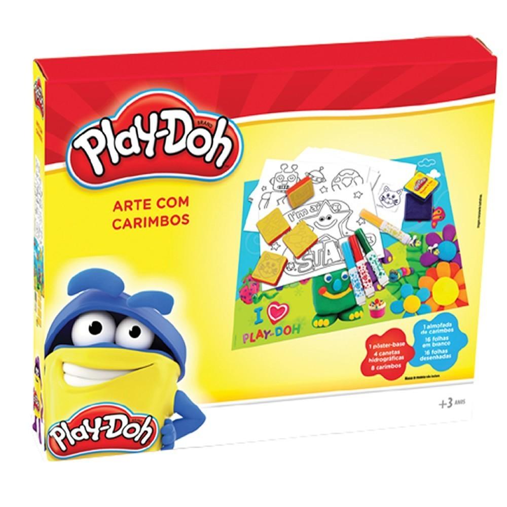 Play-Doh: Arte com Carimbos (Massinha de Modelar)