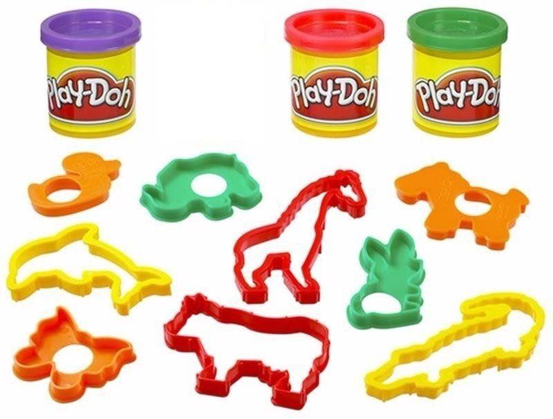 Play-Doh: Balde de Atividades: Animais (Massa de Modelar) - Hasbro