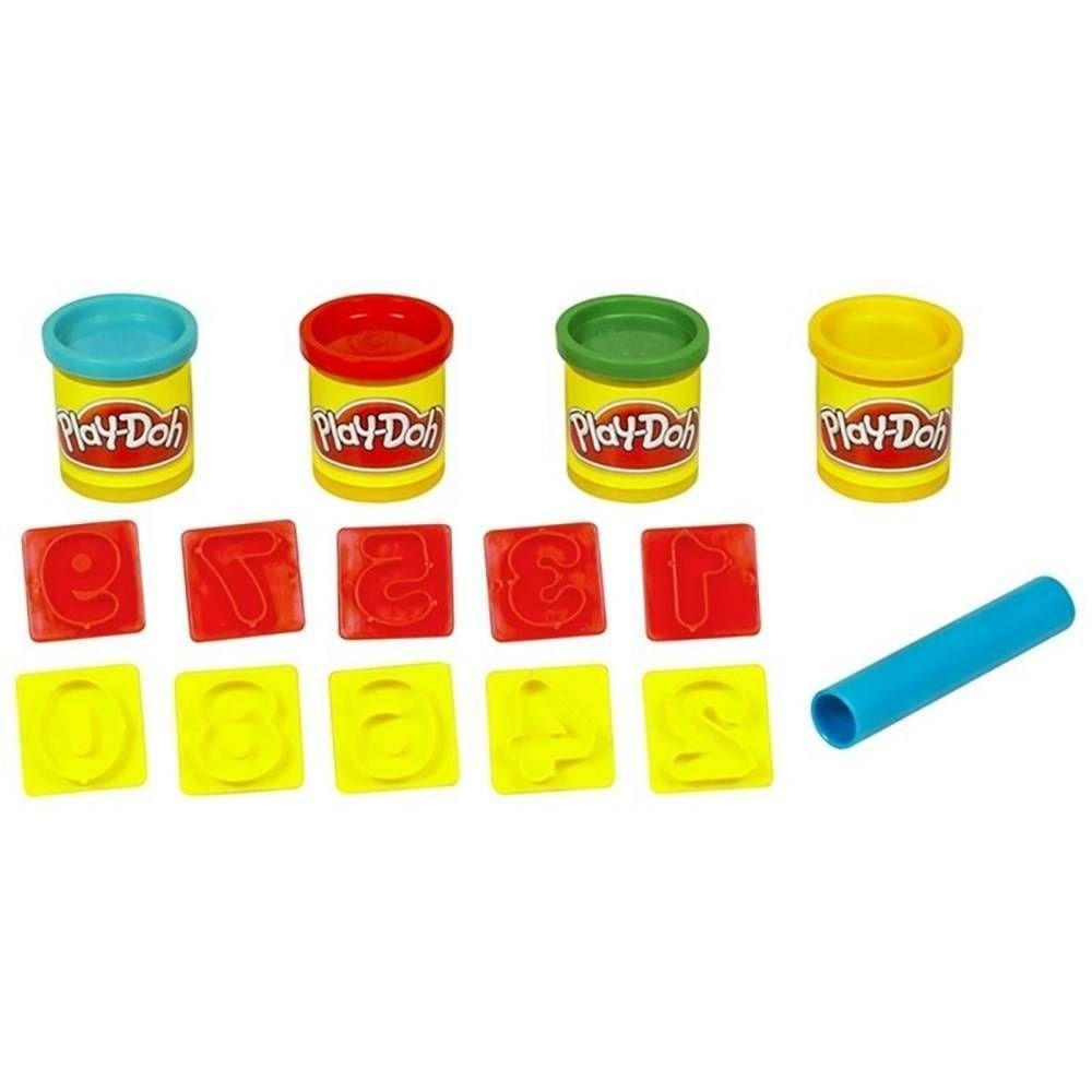 Play-Doh: Balde de Atividades: Números (Massa de Modelar) - Hasbro