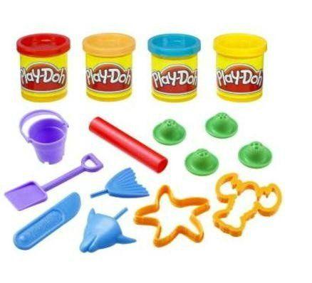 Play-Doh: Balde de Atividades: Praia (Massa de Modelar) - Hasbro