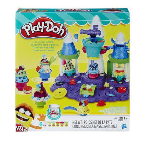 Play-Doh: Castelo de Sorvete (Massa de Modelar) - Hasbro