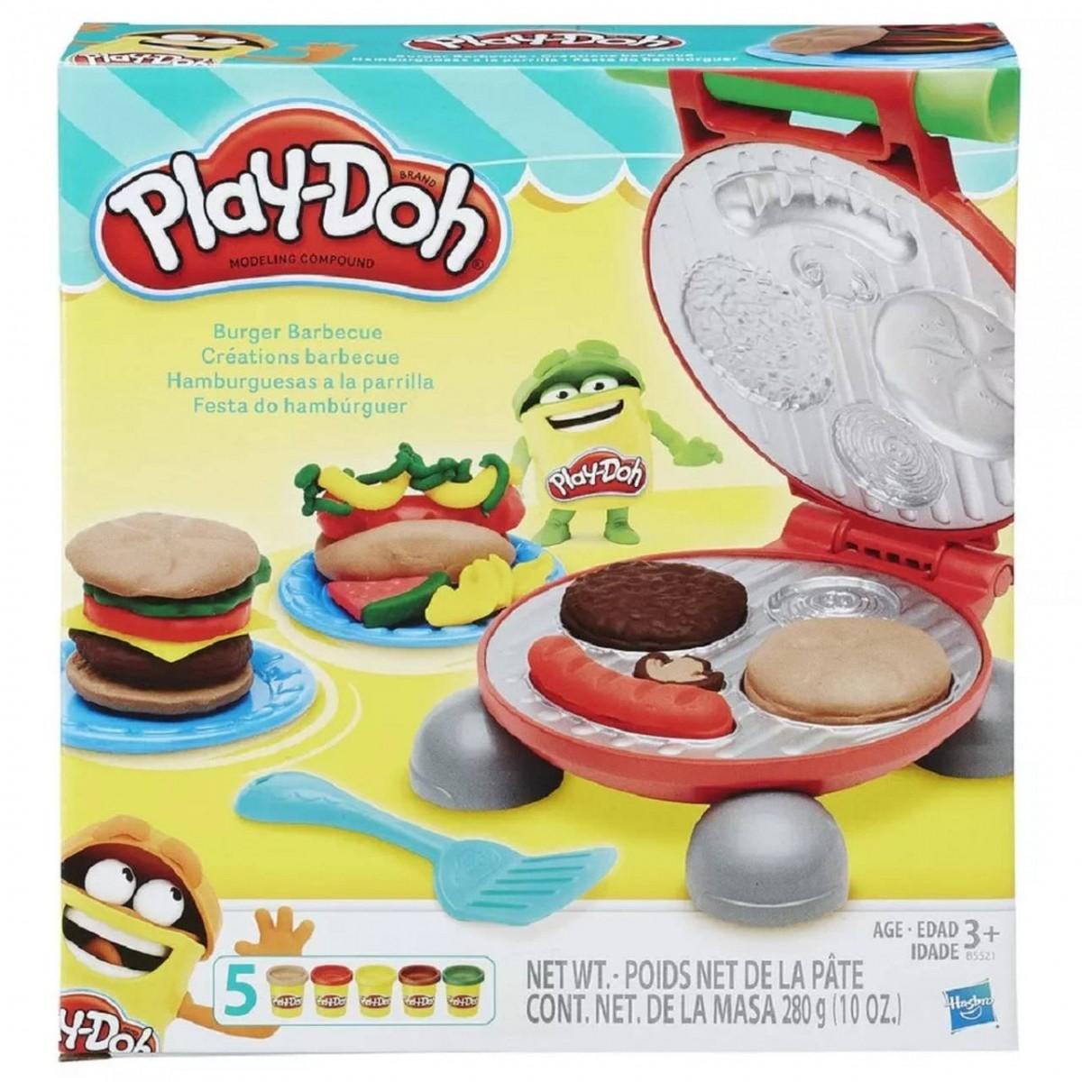 Play-Doh: Festa do Hambúrger (Massinha de Modelar)