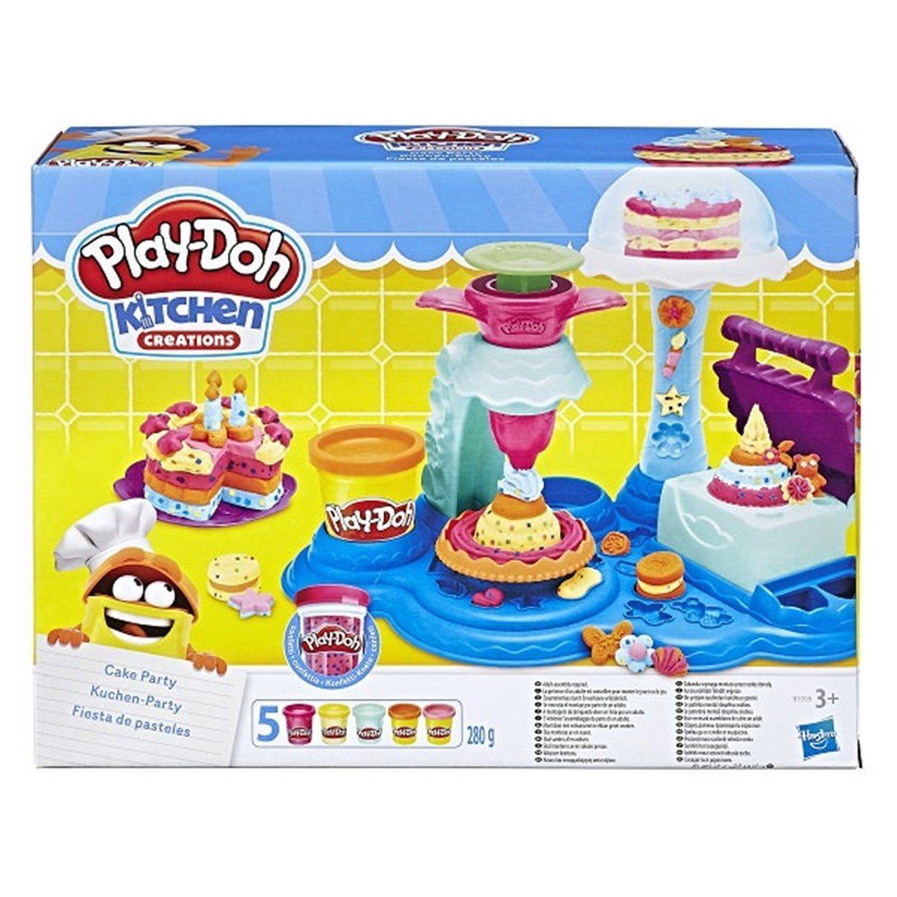 Play-Doh: Festival de Bolos (Massa de Modelar) - Hasbro