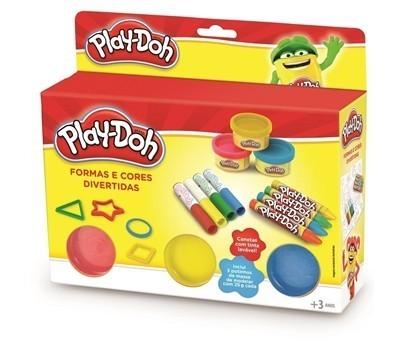 Play-Doh: Formas e Cores Divertidas (Massinha de Modelar)