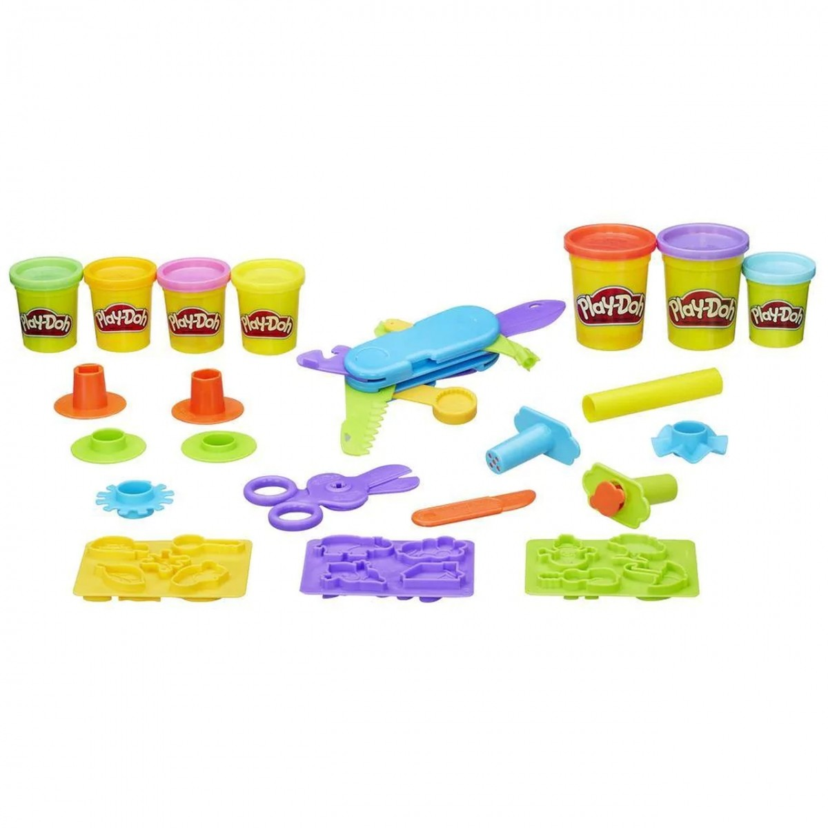 Play-Doh: Kit Multi-Ferramentas (Massinha de Modelar)
