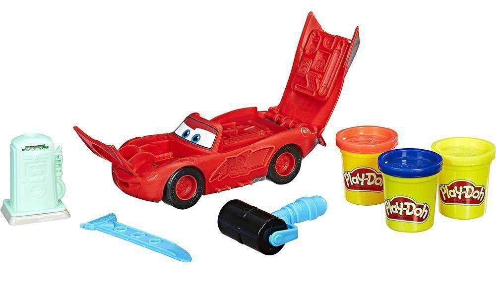 Play-Doh: Relâmpago McQueen (Massa de Modelar) - Hasbro