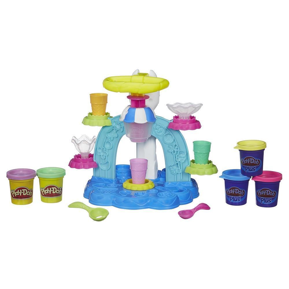 Play-Doh: Sorveteria Divertida (Massinha de Modelar)
