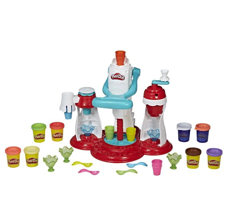 Play-Doh: Supermáquina de Sorvetes (Massa de Modelar) - Hasbro