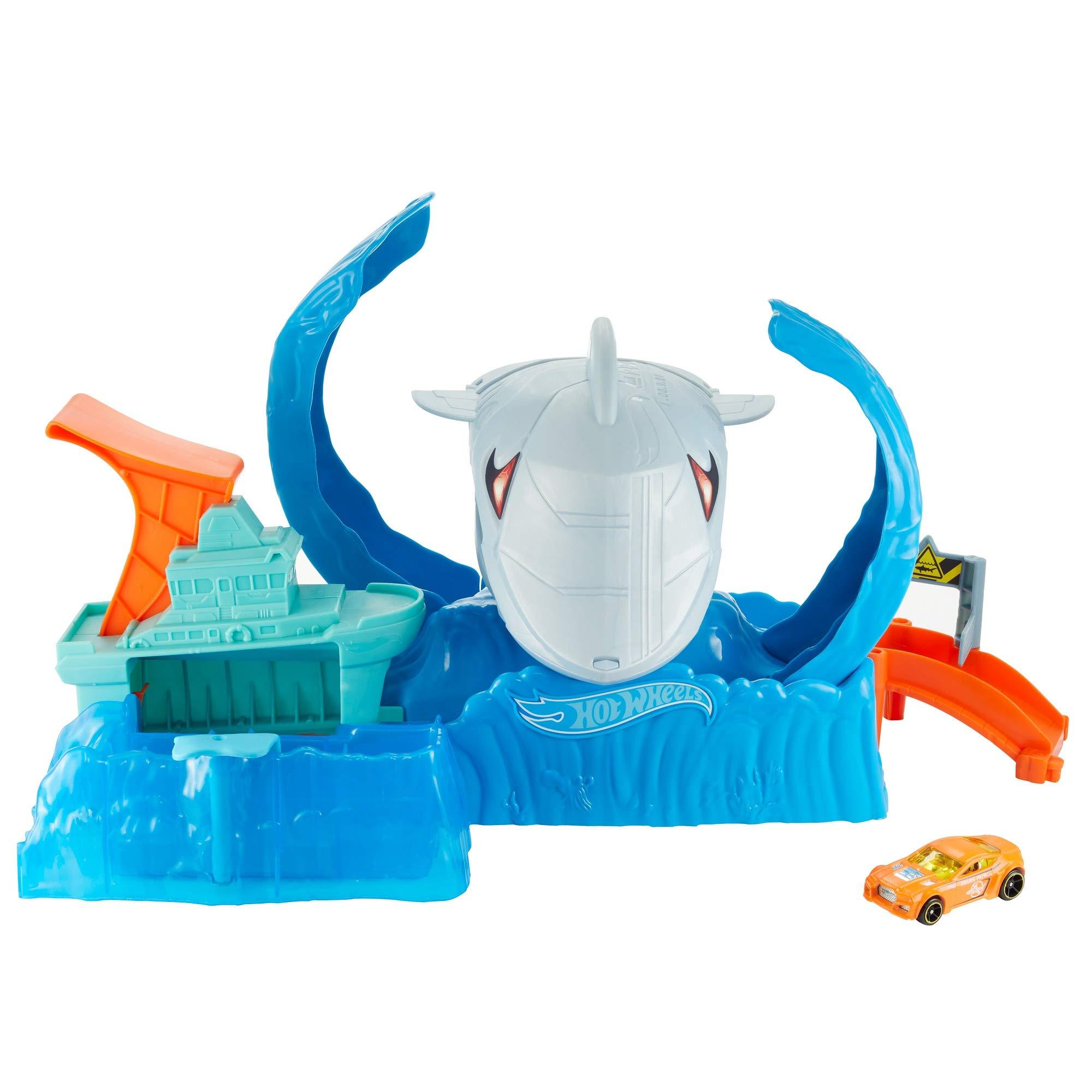 Pista ( Play Set ): Robo Shark Frenzy - Hot Wheels