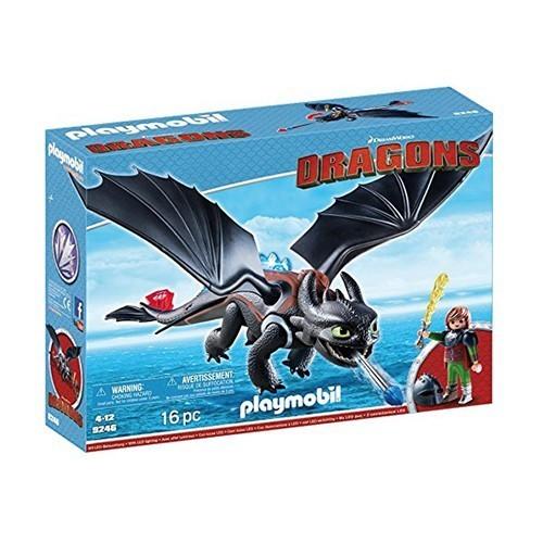 Playmobil Banguela e Soluço: Como Treinar o Seu Dragão (How to Train Your Dragon) - Sunny