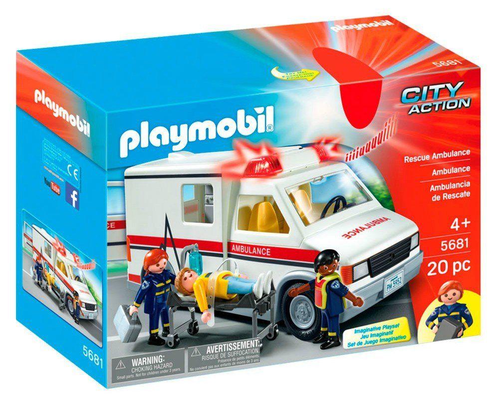 Playmobil: City Action (Ambulância) - Sunny