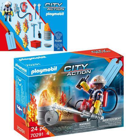 Playmobil: City Action Bombeiro Peças 70291 - Sunny