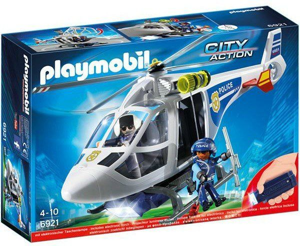 Playmobil: City Action (Helicóptero da Polícia) - Sunny