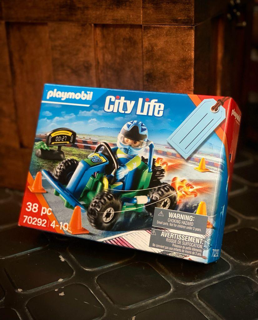 Playmobil: City Life Kart Piloto Set 38 Peças 70292 - Sunny