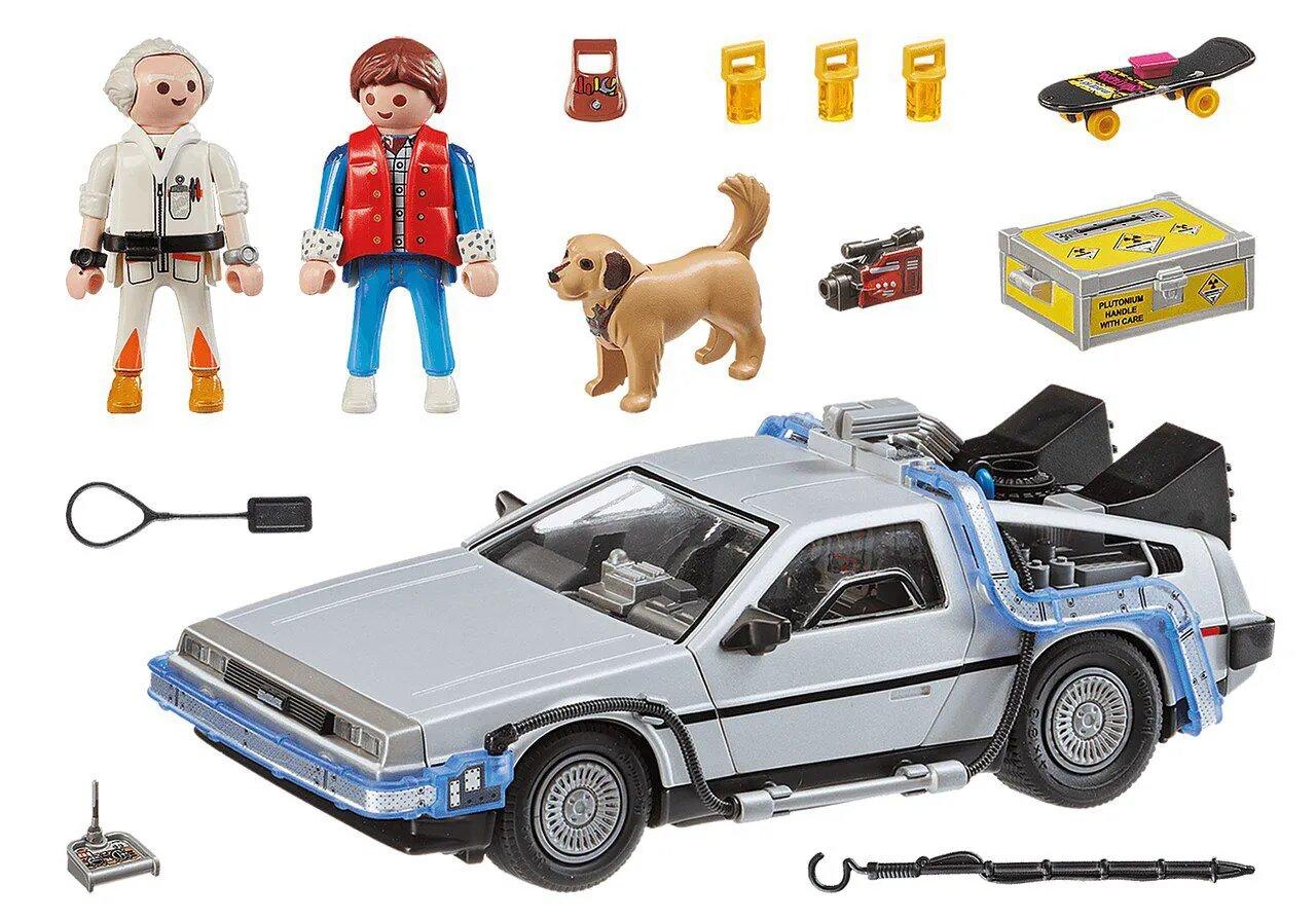 Playmobil DeLorean: De Volta Para o Futuro (Back to the Future) - Sunny
