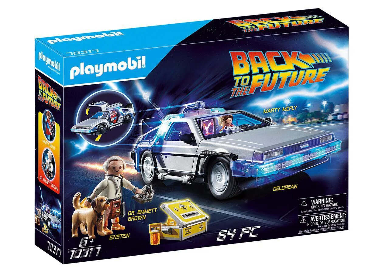 Playmobil DeLorean: De Volta Para o Futuro (Back to the Future) - Sunny - Desconto especial CCXP