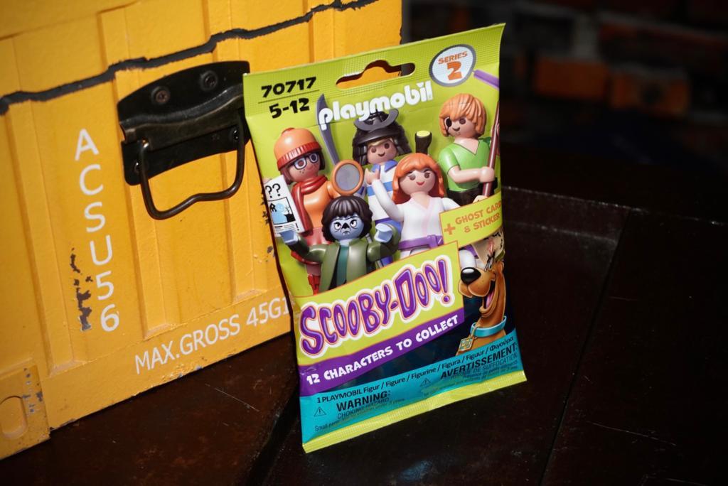 Playmobil: Figura Surpresa Scooby-doo! 12 Figuras Para Colecionar Series 2 - Sunny